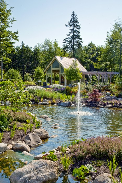 Coastal Maine Botanical Garden In Boothbay Harbor