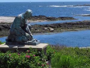 """Fisherman Statue"""