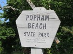 """""""Popham Beach Sign"""""""